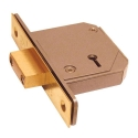 Chubb 3G114E B/S 5 lever deadlock. (80mm brass)