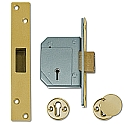 Chubb 3G114 Deadlock (67mm Brass)