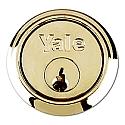 Yale 1109 Rim Cylinder Brass