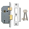 Union 2277 3 Lever Sashlock (50mm Chrome)