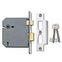 Union 2277 3 Lever Sashlock (100mm Chrome)