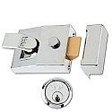 Yale 89 Standard Style Nightlatch Polished Chrome