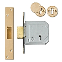 Chubb 3G114E B/S Deadlock (67mm Brass)