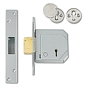 Chubb 3G114E B/S Deadlock (67mm Satin Chrome)