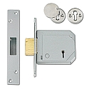 Chubb 3G114E B/S Deadlock (80mm Satin Chrome)