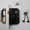 Union Essential Range 3 Lever Sashlock (64mm Brass)