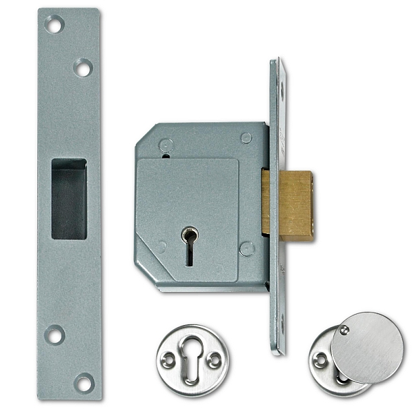 Chubb 3G114 Deadlock (67mm Satin Chrome)