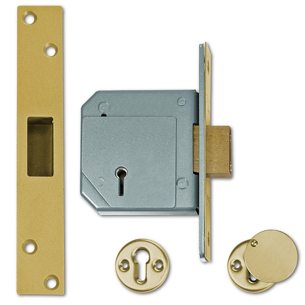Chubb 3G114 Deadlock (80mm Brass)